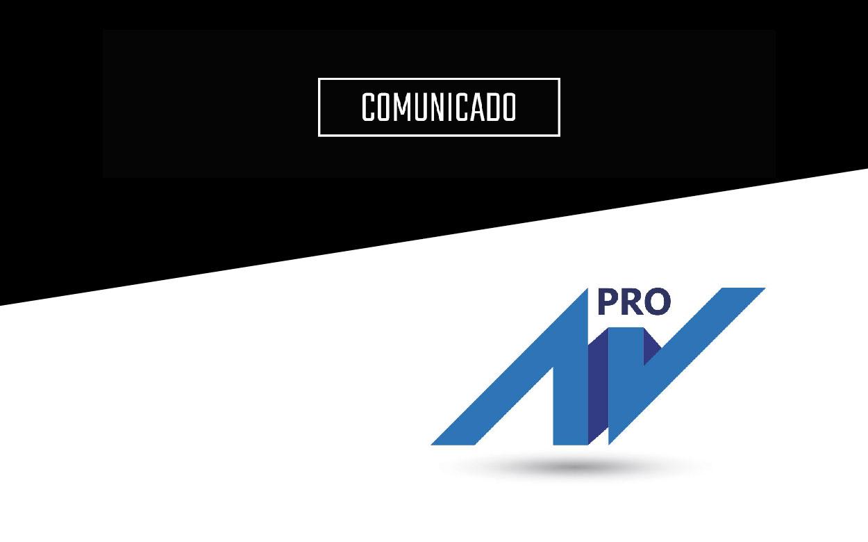 Comunicado AVPRO