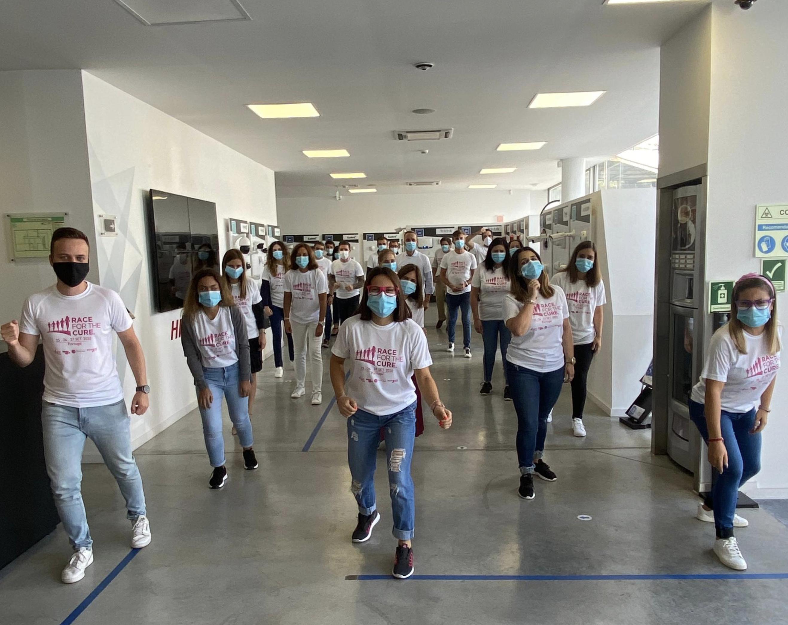 Grupo Bernardo da Costa apoia Race for The Cure